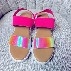 Women's Dirty Laundry pink Sandals size 7.5